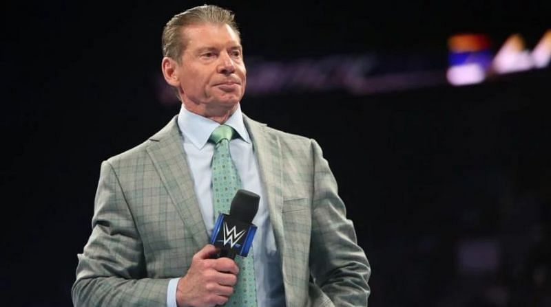 Vince McMahon decides who does and doesn