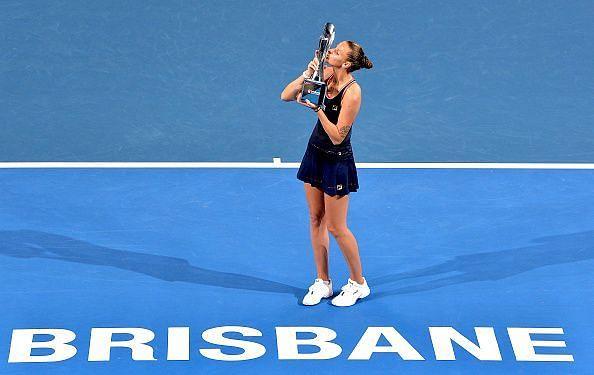 Karllina Pliskova won the Brisbane International in 2019