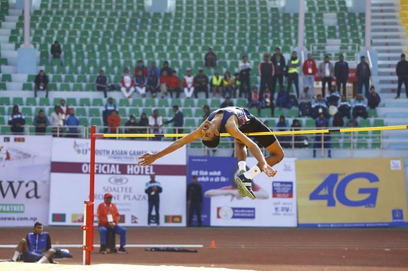 High Jump - South Asian Games 2019