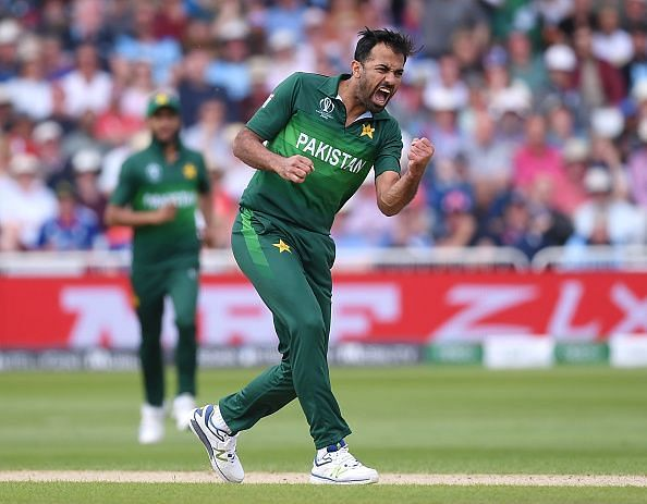 Wahab Riaz took 5 wickets in 3.4 overs