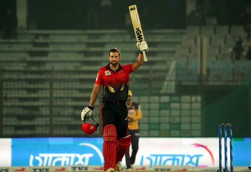Dawid Malan had scored a century against Rajshahi Royals
