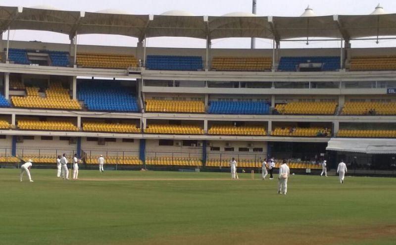 रणजी ट्रॉफी का एक मैच (Photo-Twitter)