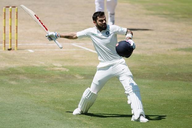 कप्तान विराट कोहली टेस्ट क्रिकेट में अब तक 141 पारियों में 7202 रन बना चुके है।