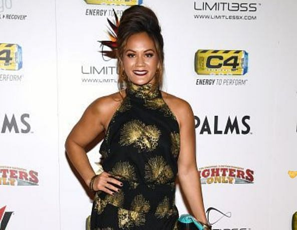 Ilima-Lei Macfarlane at the 11th Annual Fighters Only World MMA Awards