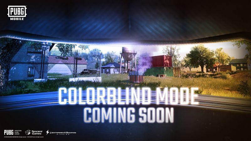 PUBG Mobile's new Colourblind Mode