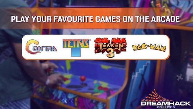 Retro Games at DreamHack Delhi 2019 (Image: Nodwin)