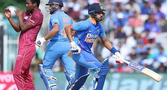 भारत-वेस्टइंडीज के खिलाड़ी