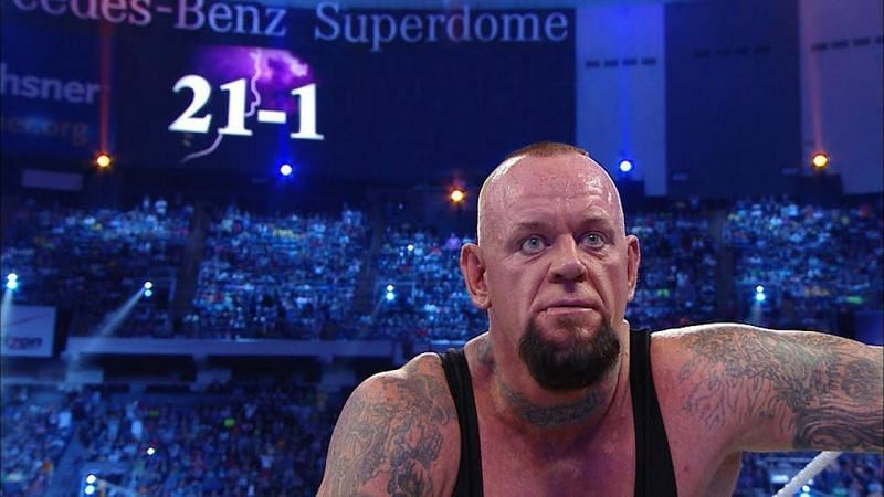 The end of The Undertaker