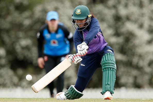 Bangladesh Women scored 255 runs in the first innings