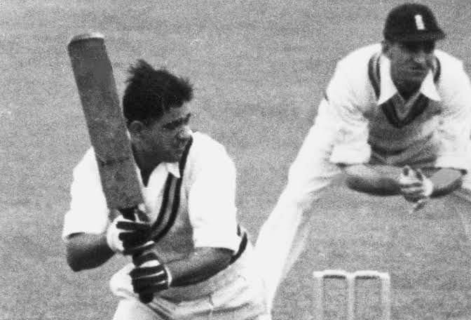 Vinoo Mankad is one of three cricketers to have batted in every position during his Test career.