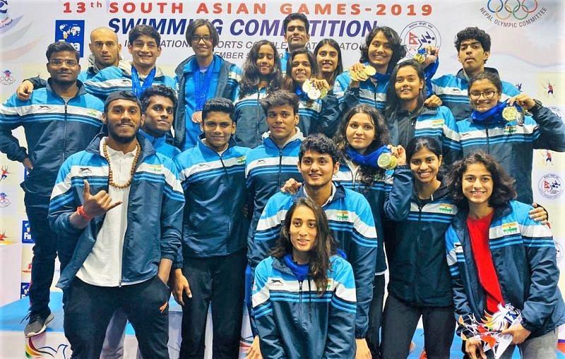 स्विमिंग में भारत का प्रदर्शन काफी शानदार रहा