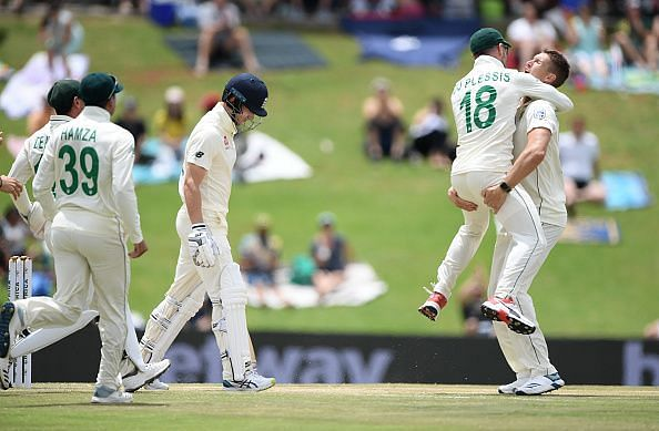 Pretorius was impressive with both bat and ball on his Test debut versus England at Centurion