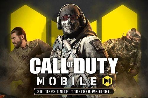call of duty mobile logo white