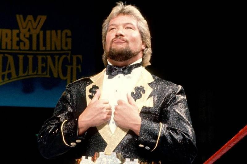 The Million Dollar Man, Ted Dibiase, WWE legend and Hall of Fame member.