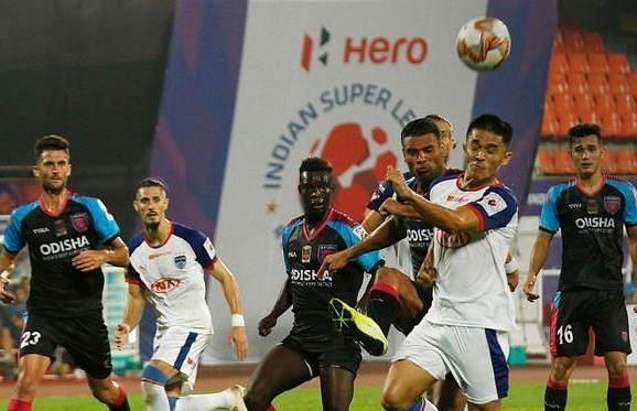 बेंगलुरु एफसी vs ओडिशा एफसी