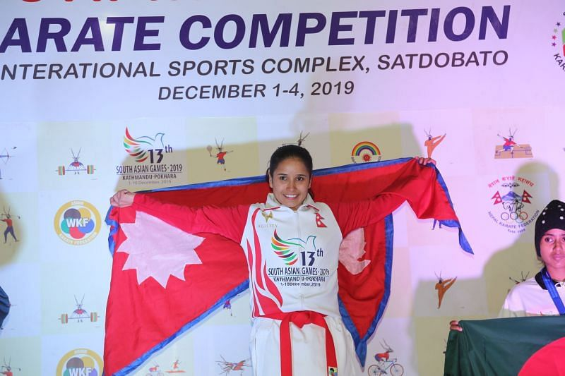 Nepal won 15 Gold Medals today