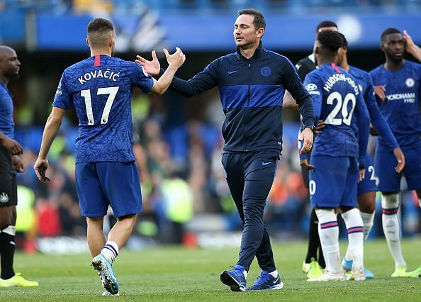 Young players are thriving under Frank Lampard