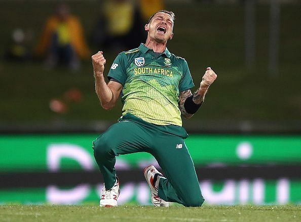 Dale Steyn picked up an injury in the Mzansi Super League