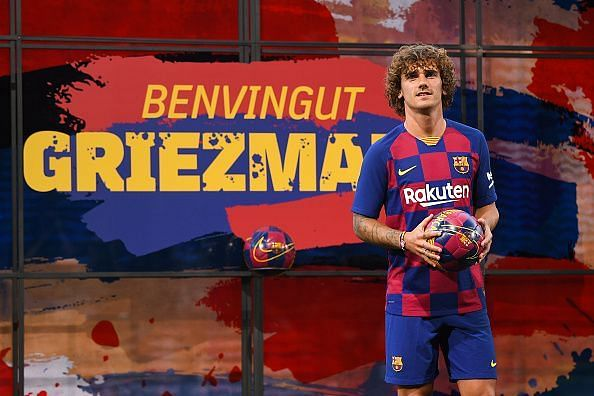 FC Barcelona unveil new their new French superstar