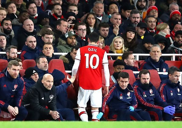 Mesut Ozil has not lived up to the hype at Arsenal