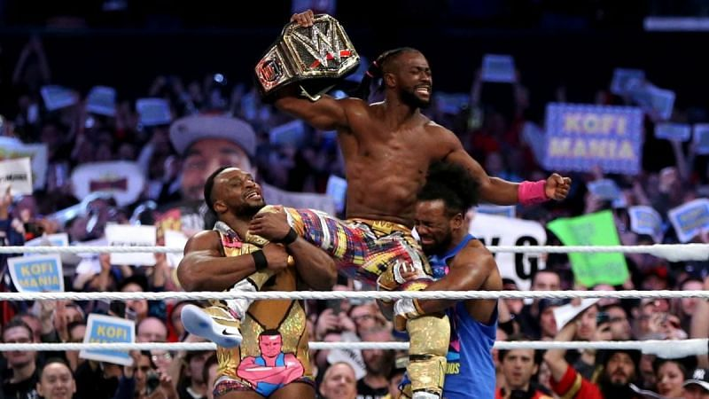 Kofi Kingston won the WWE Championship at WrestleMania 35