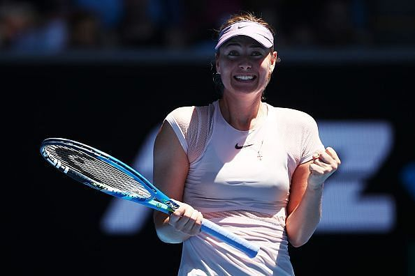 Maria Sharapova was the world number 1 player in June 2012