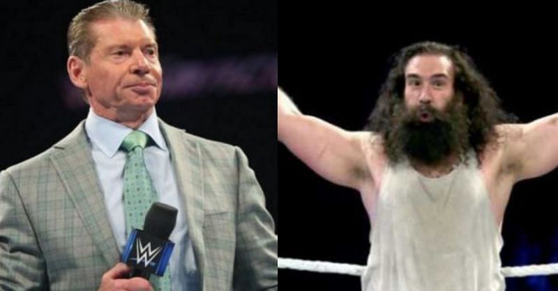 Luke Harper was one of the four Superstars released by Vince McMahon