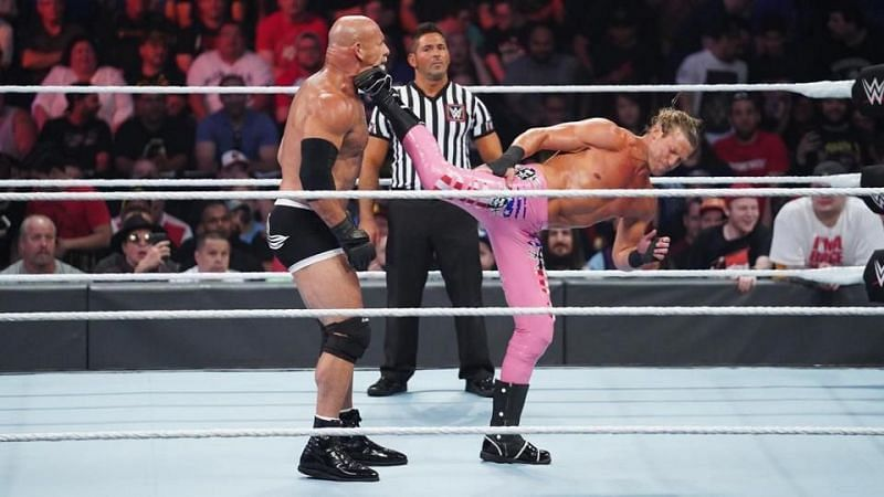 Dolph Ziggler takes a dig at Goldberg after the latter is announced as the next guest for Steve Austin's podcast