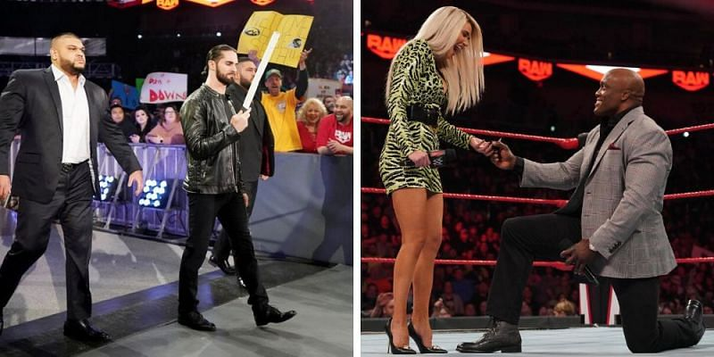A big night for Lan-shley while Rollins had a bone to pick