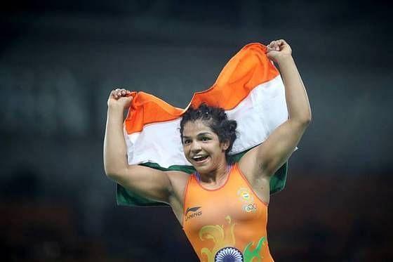 Sakshi Malik won the gold medal in Women