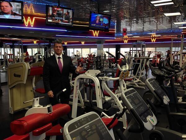 WWE HQ houses a massive gym