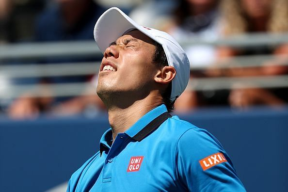 Kei Nishikori is the highest ranked player for the Japanese side.