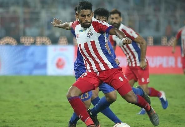 Roy Krishna salvaged a late point for ATK in their last game against Mumbai City (Image: ISL)