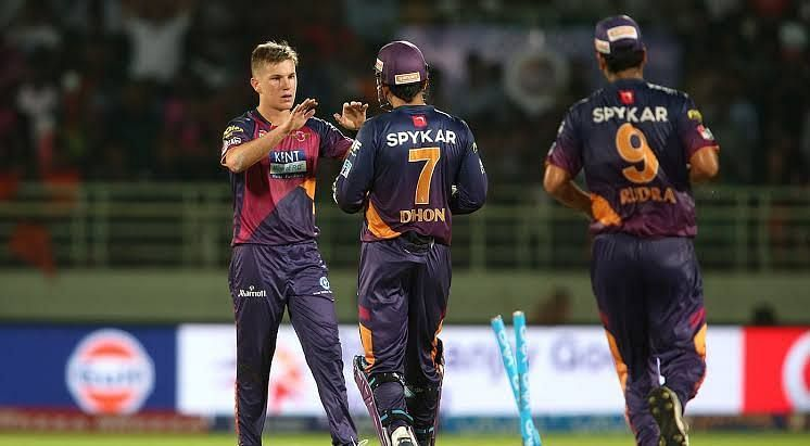 Zampa made his IPL debut in 2016