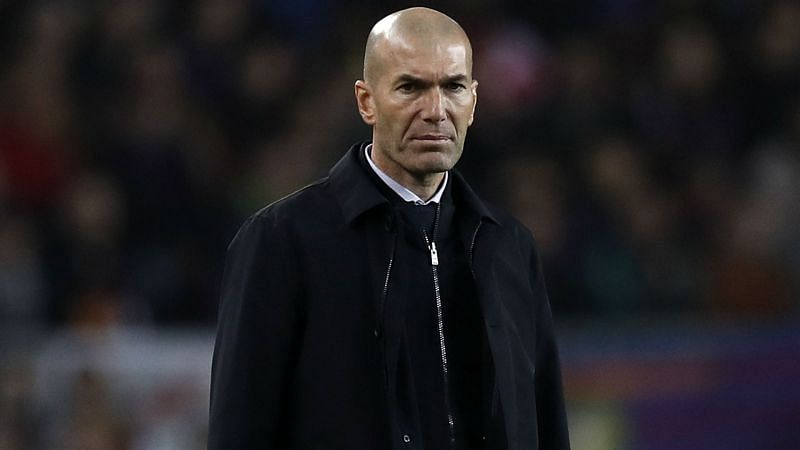 Clasico draw against Barca 'not good enough' for Real Madrid boss Zidane