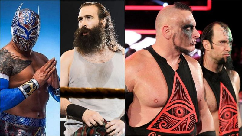 Sin Cara, Luke Harper, and The Ascension have all been released