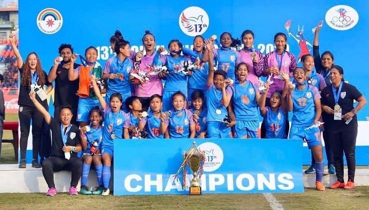 Indian Women got their third medal in a row at the South Asian Games defeating Nepal.