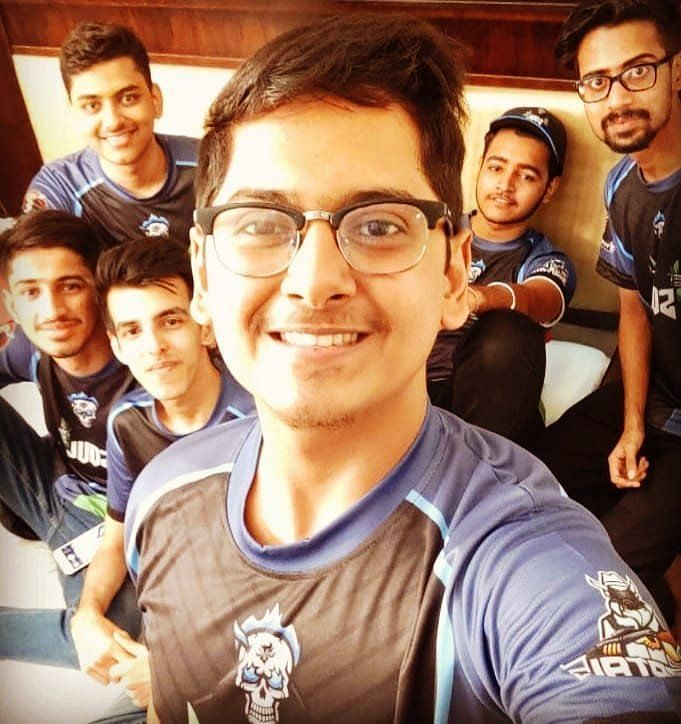 Aman with team SouL during PMCO Spring Split 2019 (Image:Guru Gamer)