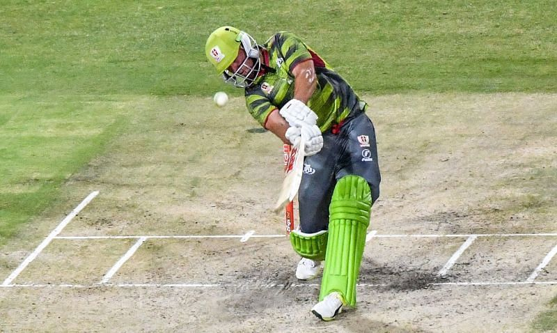 AB de Villiers has scored two fifties in the previous two matches leading the Spartans to the top