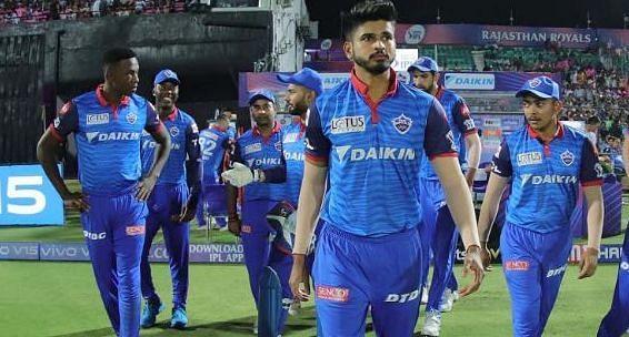 दिल्ली कैपिटल्स टीम