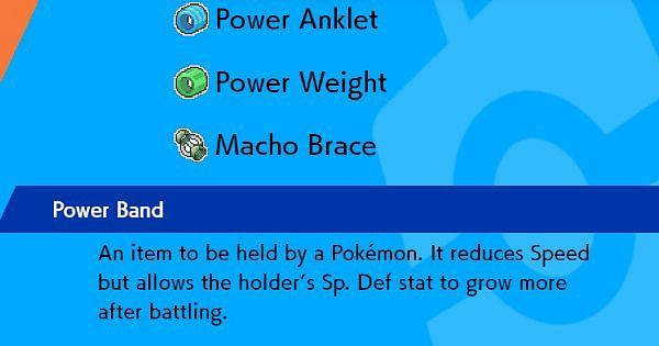 Power Items