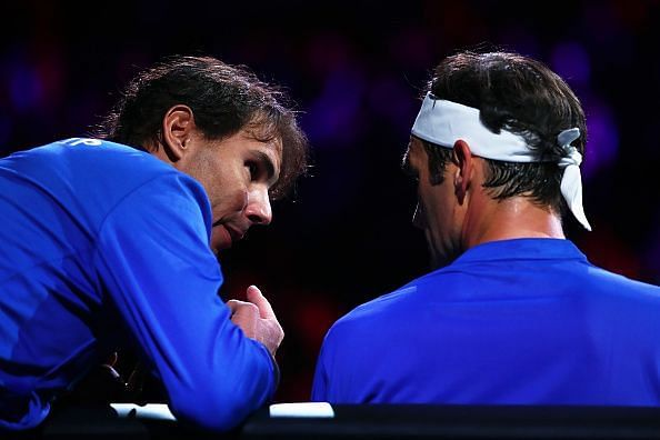 Federer and Nadal are regarded as the two greatest players ever