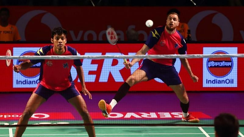 PBL Day 6: Pune 7 Aces in action.