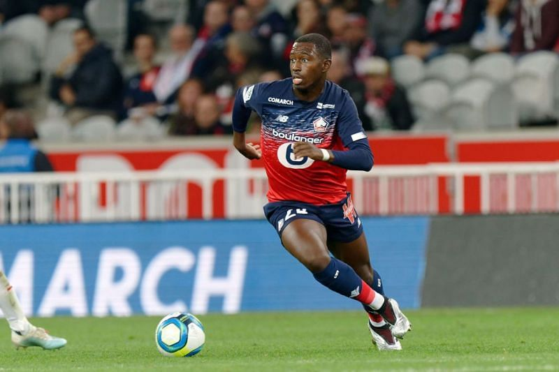 Boubakary Soumaré playing for LOSC Lille