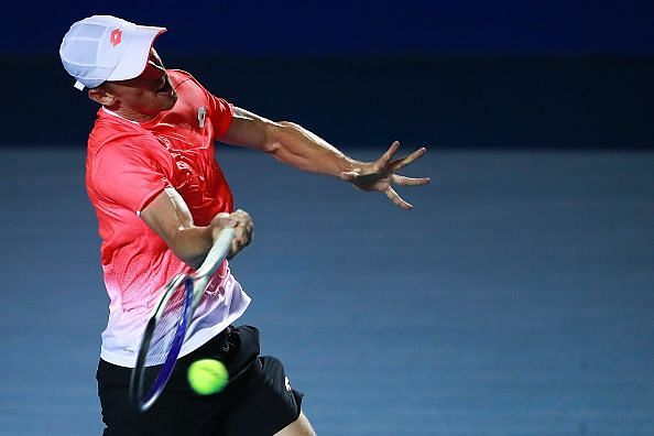 Millman will have to rely on his consistency and baseline prowess.
