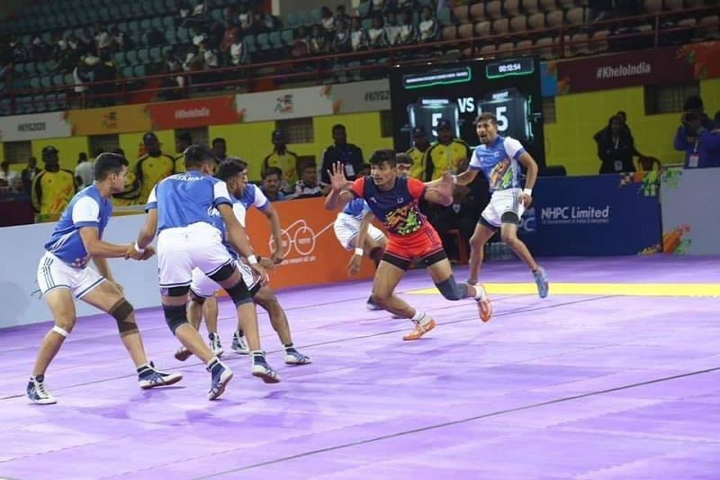 Pankaj Mohite scored 8 raid points against Uttar Pradesh