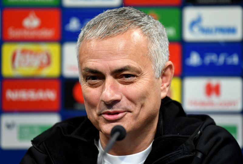 Mourinho missed taking centre-stage during his enforced break from the game