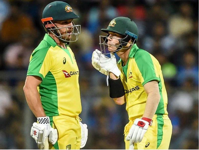Aaron Finch and David Warner demolished India