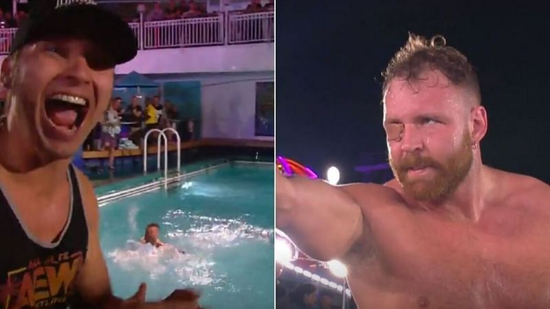 AEW Dynamite Results: Huge title change, wrestler thrown into swimming pool, Moxley vs PAC