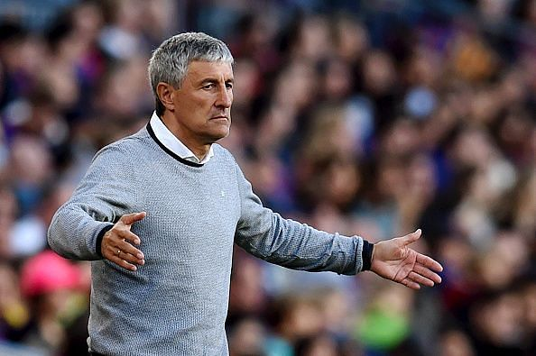 Quique Setien has signed a 2 and a half year deal with Barcelona